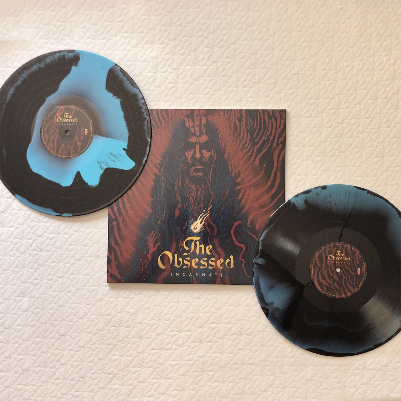 The Obsessed - Incarnate Ultimate Edition Vinyl 2-LP Gatefold  |  Cosmic Swirl